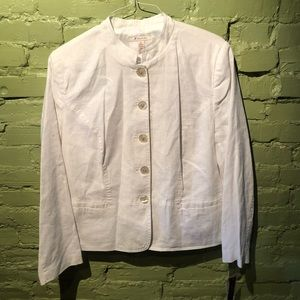 J M collection plus size 100% linen jacket 16 XL